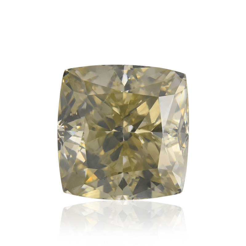 Fancy Gray Greenish Yellow Diamond