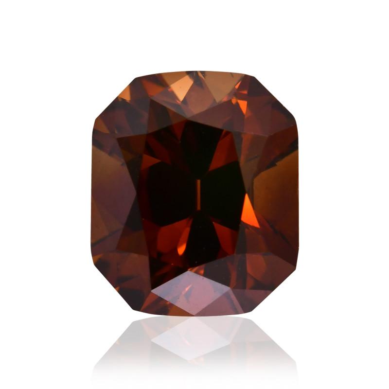 Fancy Deep Orange Champagne Diamond