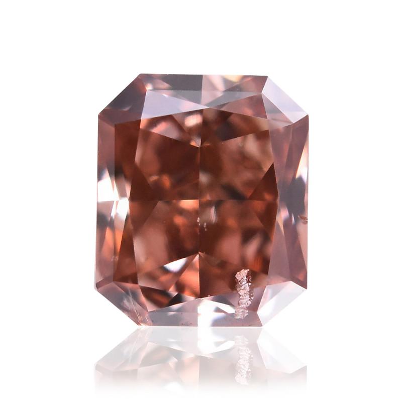 Fancy Deep Orangy Pink Diamond