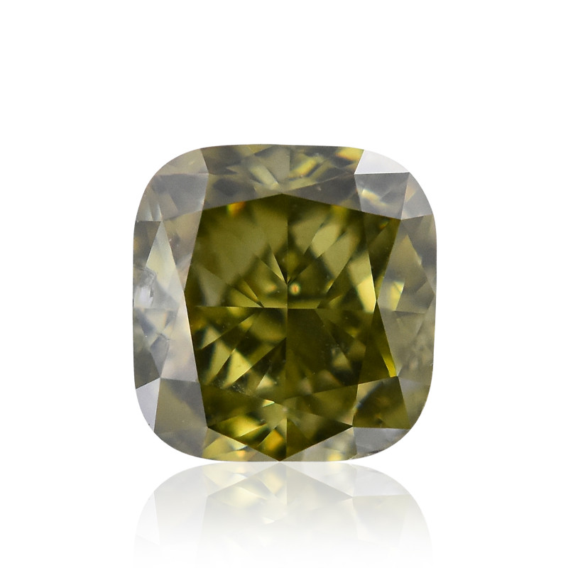 Fancy Deep Grayish Yellowish Chameleon Diamond