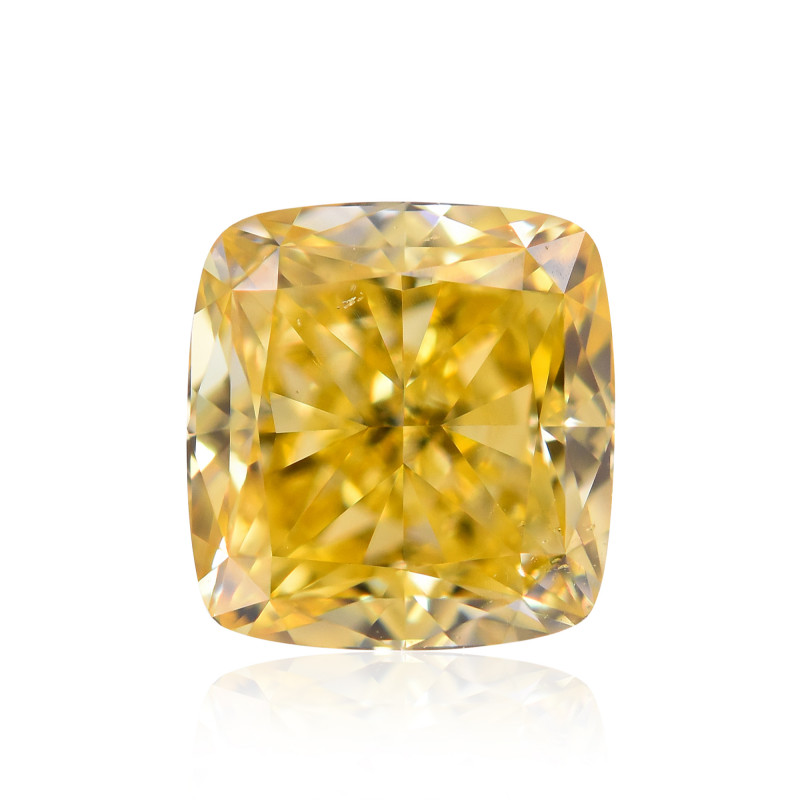 Fancy Intense Orangy Yellow Diamond