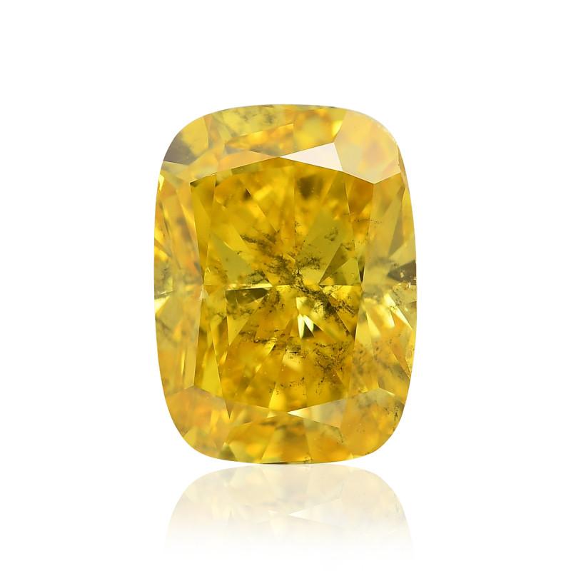 Fancy Vivid Orangy Yellow Diamond