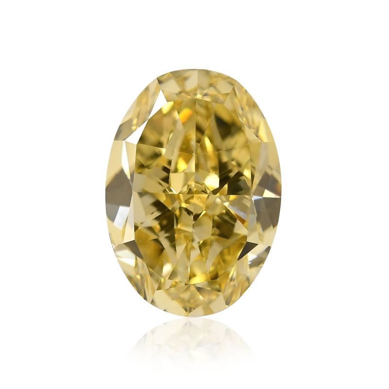 Yellow Oval Diamond