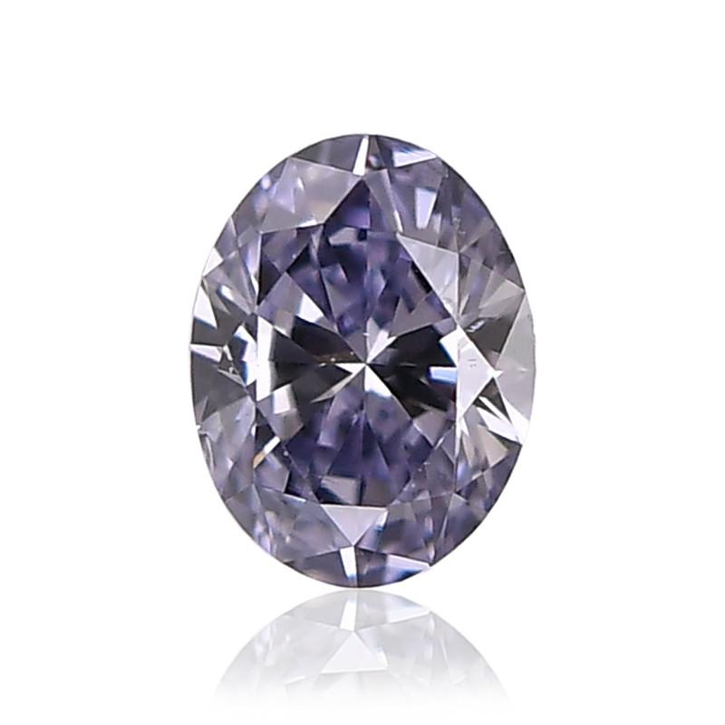 Violet Oval Diamond