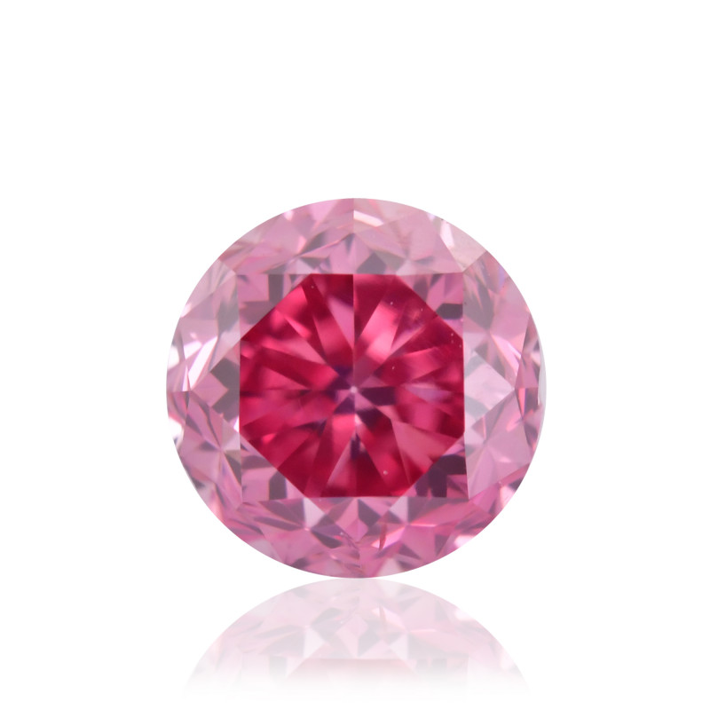 Fancy Vivid Purplish Pink Diamond