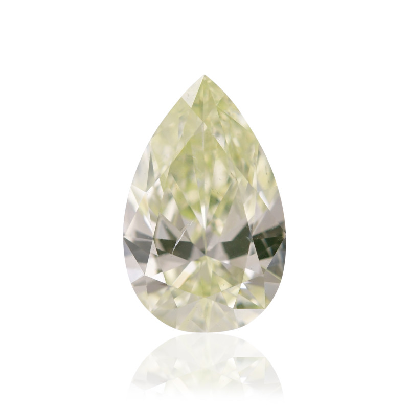 Fancy Light Green Yellow Diamond