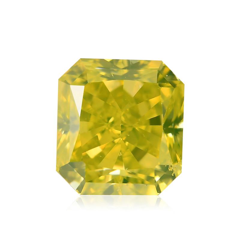 Fancy Vivid Greenish Yellow Diamond