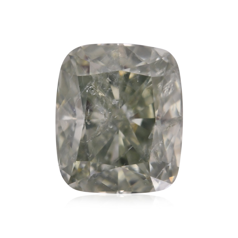 Fancy Deep Yellowish Green Diamond