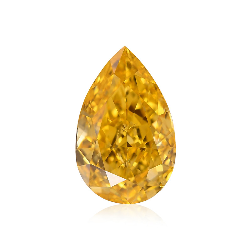 Yellow Pear Diamond