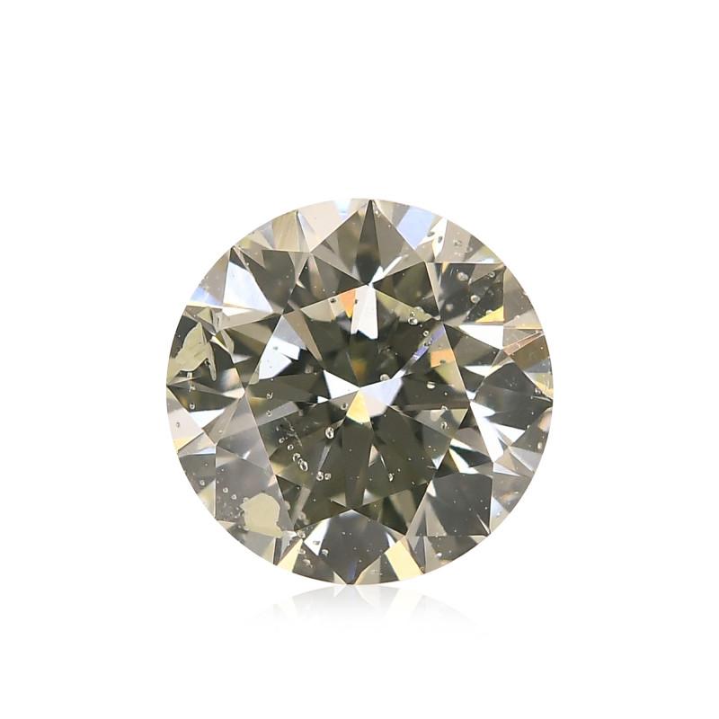 Very Light Yellow Green Diamond