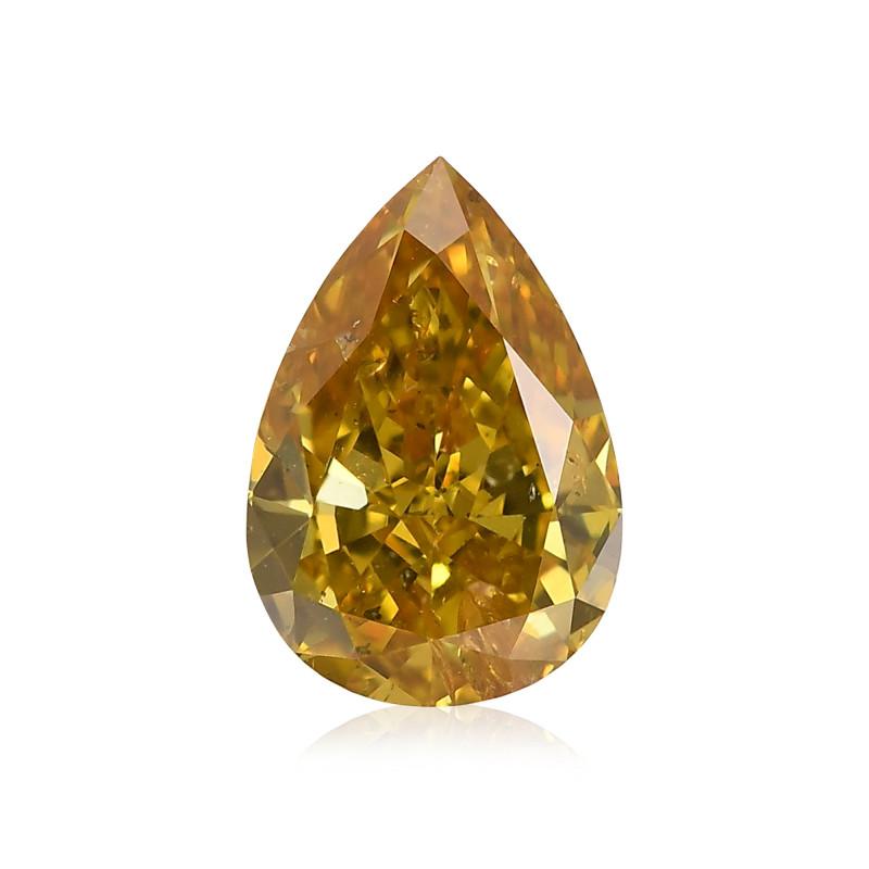 Fancy Deep Brownish Yellow Diamond