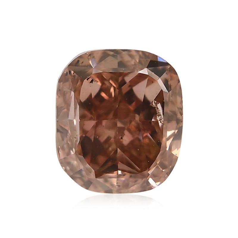 Fancy Deep Brownish Orangy Pink Diamond