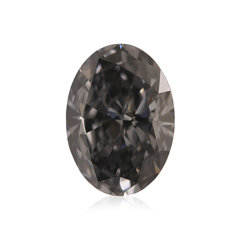 Fancy Dark Gray Blue Diamond