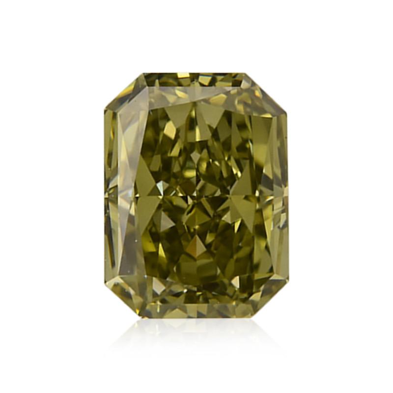 Fancy Deep Grayish Yellowish Chameleon Diamond