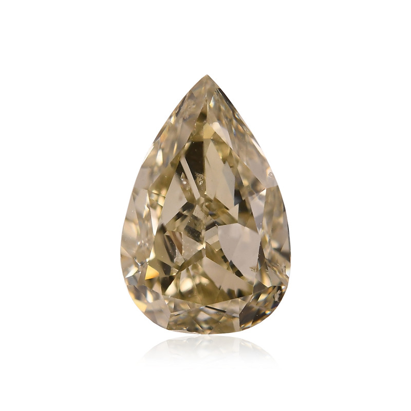 Fancy Brownish Greenish Chameleon Diamond