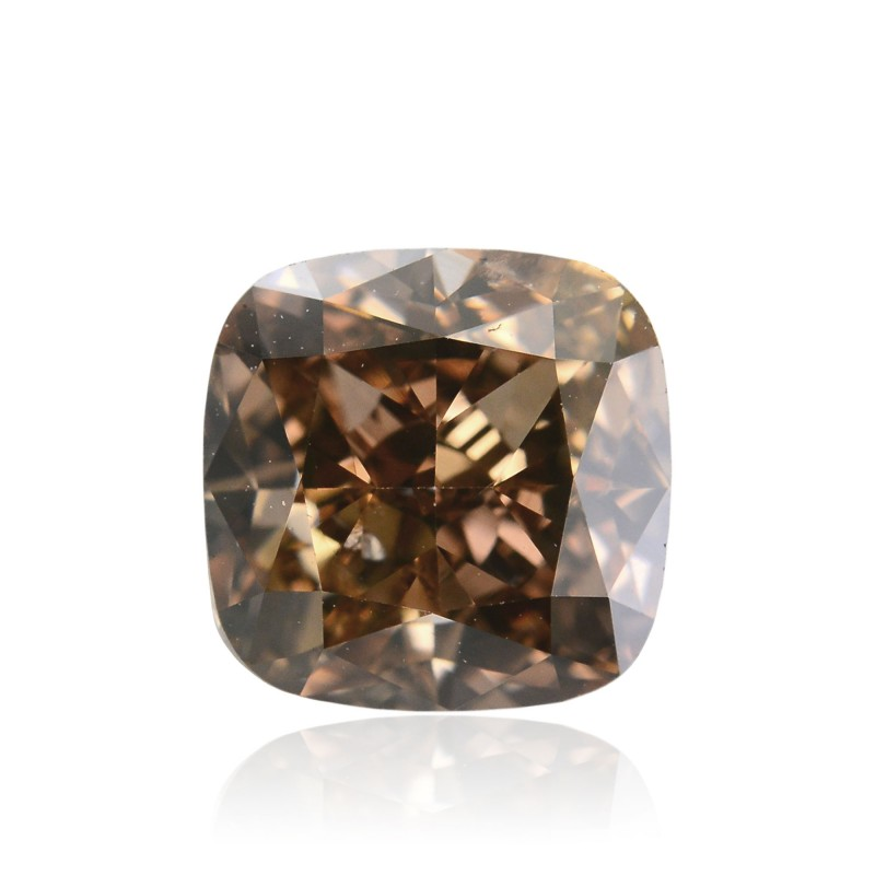 Champagne Cushion Diamond