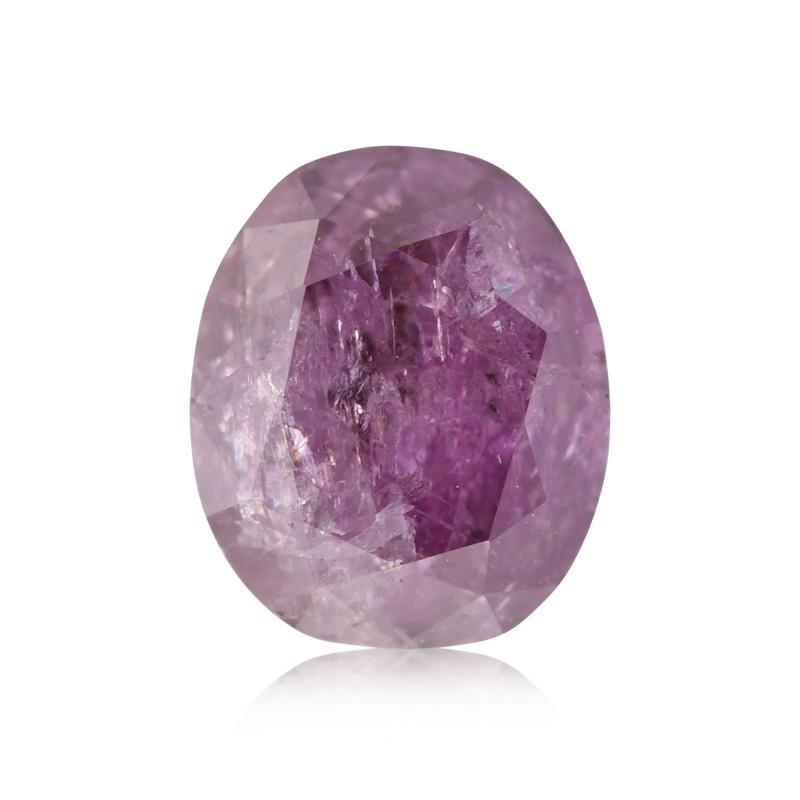 Fancy Deep Brownish Purple Pink Diamond