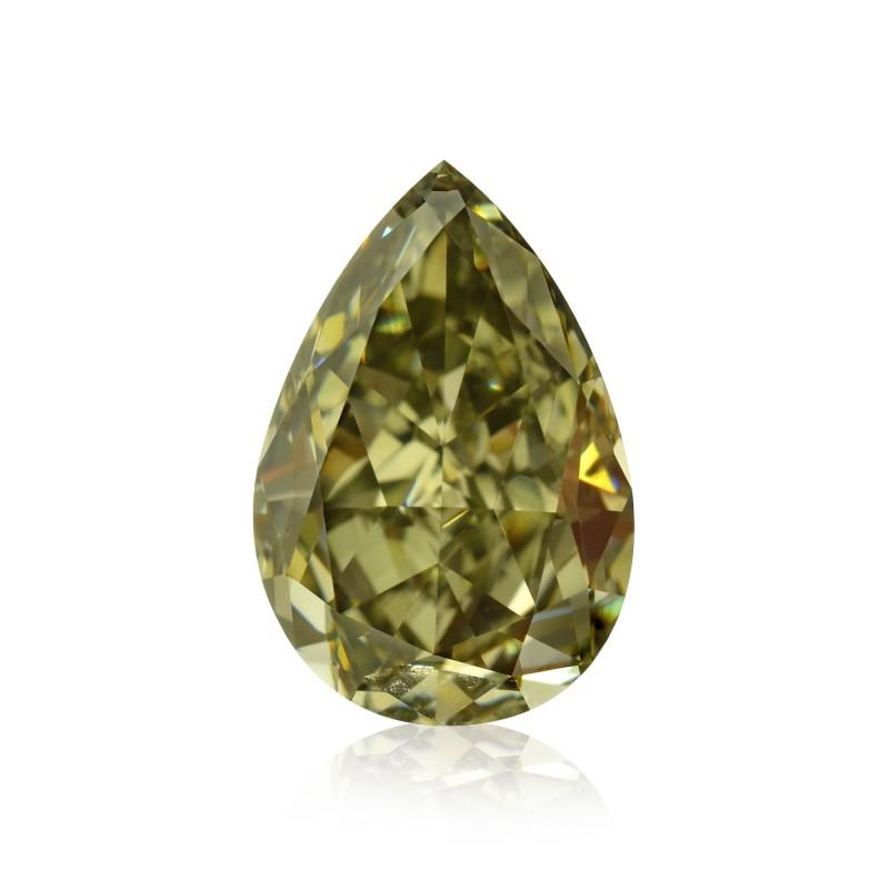 Fancy Dark Gray Yellowish Chameleon Diamond