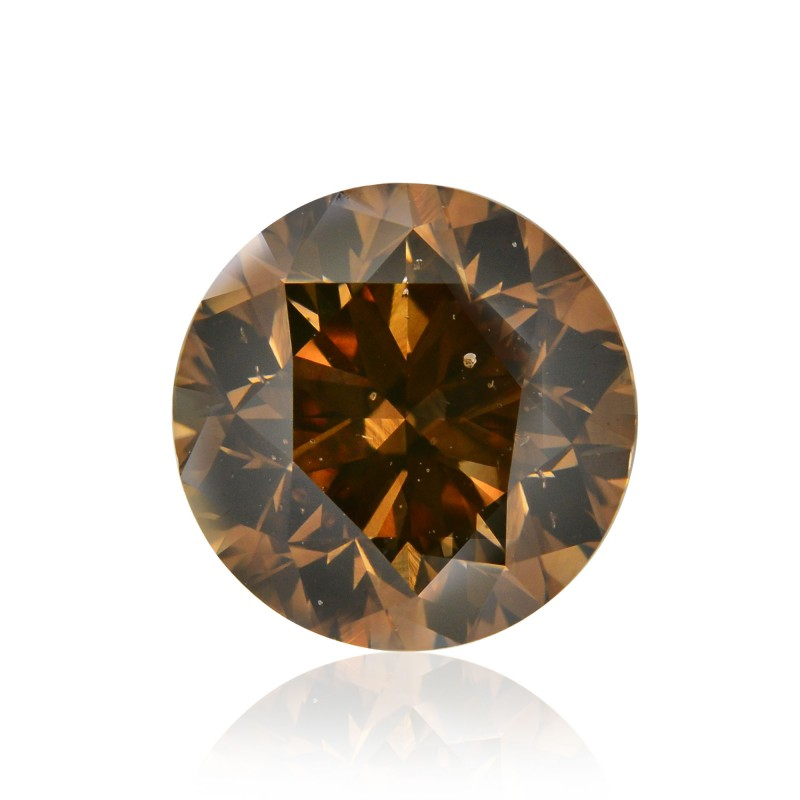 Fancy Orange Champagne Diamond