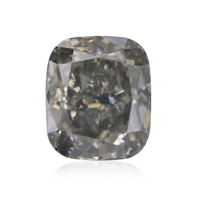 Gray Cushion Diamond