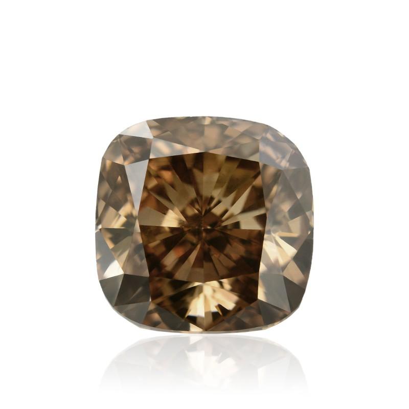 Champagne Cushion Diamond