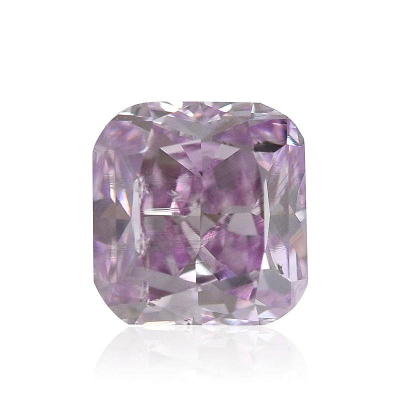 Purple Cushion Diamond