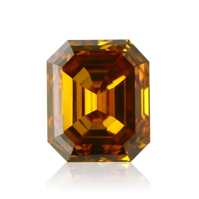 Orange Emerald Diamond