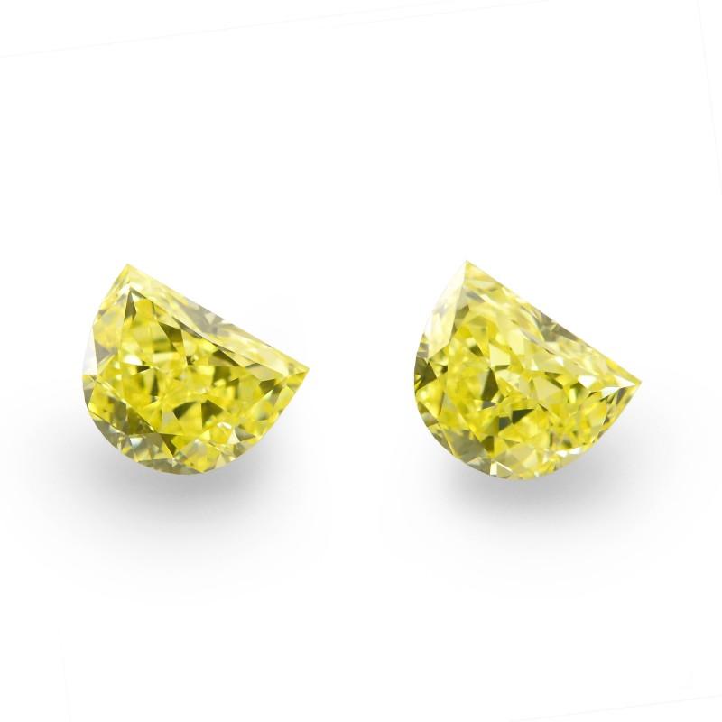 Yellow Half Moon Diamond
