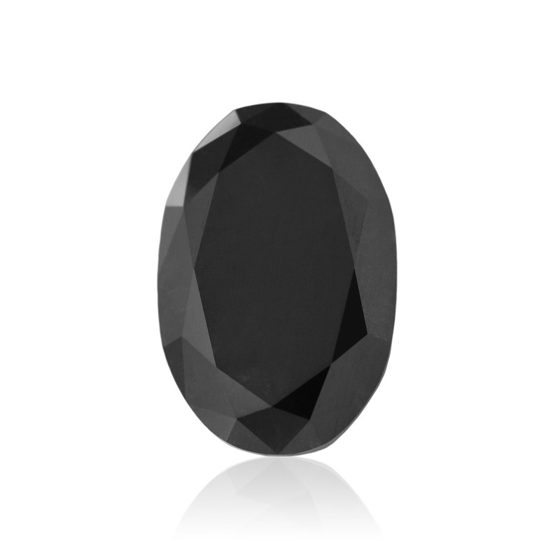 Black Oval Diamond