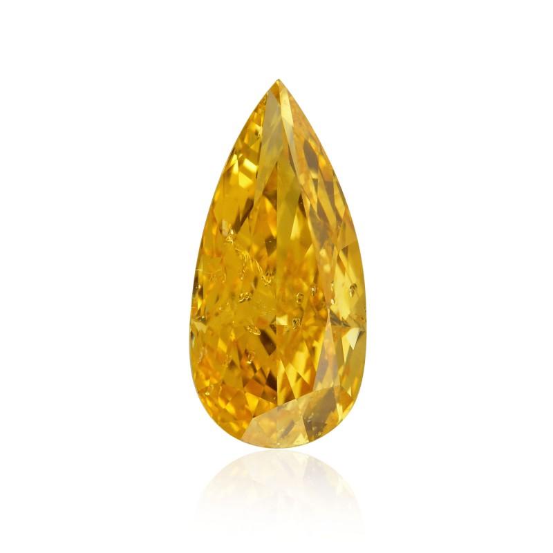 Orange Pear Diamond