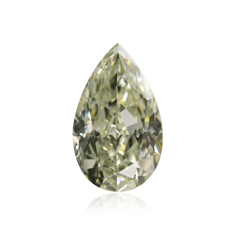 Fancy Light Grayish Yellowish Green Diamond