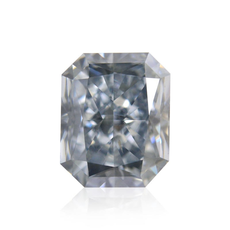 Fancy Gray Blue Diamond