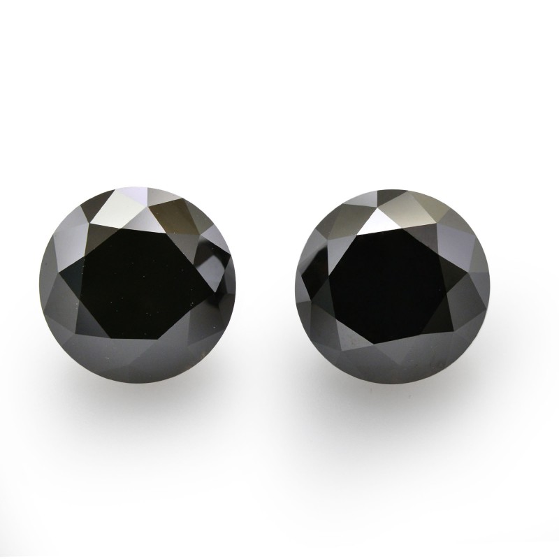 Black Round Diamond