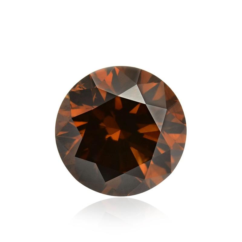 Fancy Dark Orange Champagne Diamond
