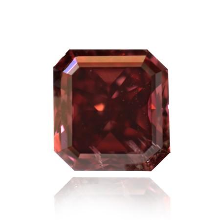 0.40 carat, Fancy Red, Radiant Shape, I1 Clarity, GIA & ARGYLE, SKU 17146