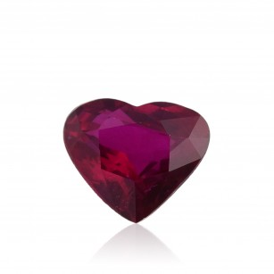 Pinkish Red Gemstone