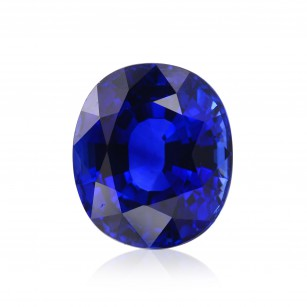 Vivid Blue Gemstone