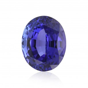 Violetish Blue Gemstone
