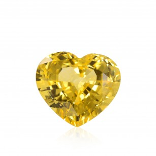 Vivid Yellow Gemstone