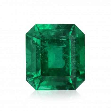 3 73 Carat Green Zambian Emerald Radiant Shape
