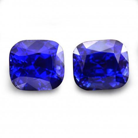 11 05 Carat Royal Blue Sri Lankan Sapphire Cushion