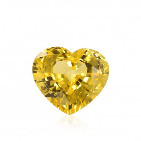 Vivid Yellow Gemstone
