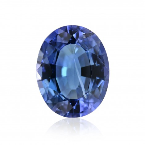 Intense Blue Gemstone