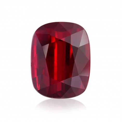 Vivid Pigeon Blood Gemstone