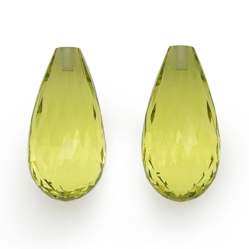 Yellow Briolette Diamond