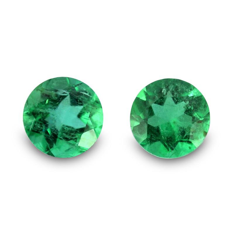 Green Round Diamond