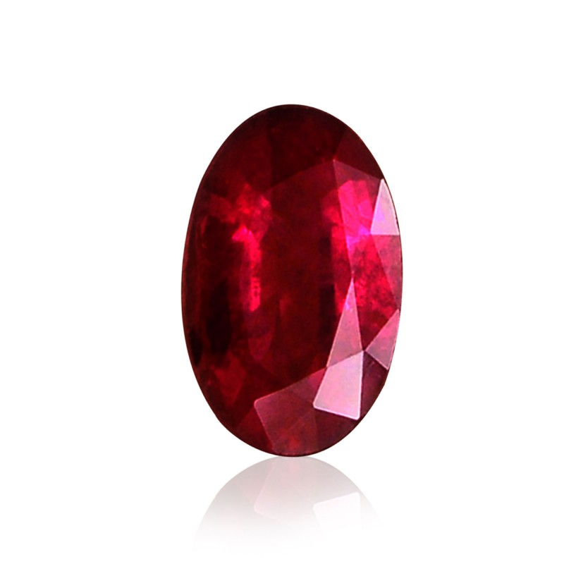 Red Oval Diamond