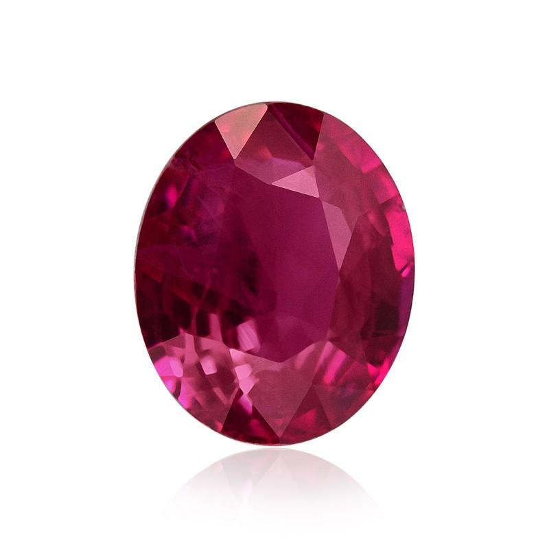 Red Oval Diamond