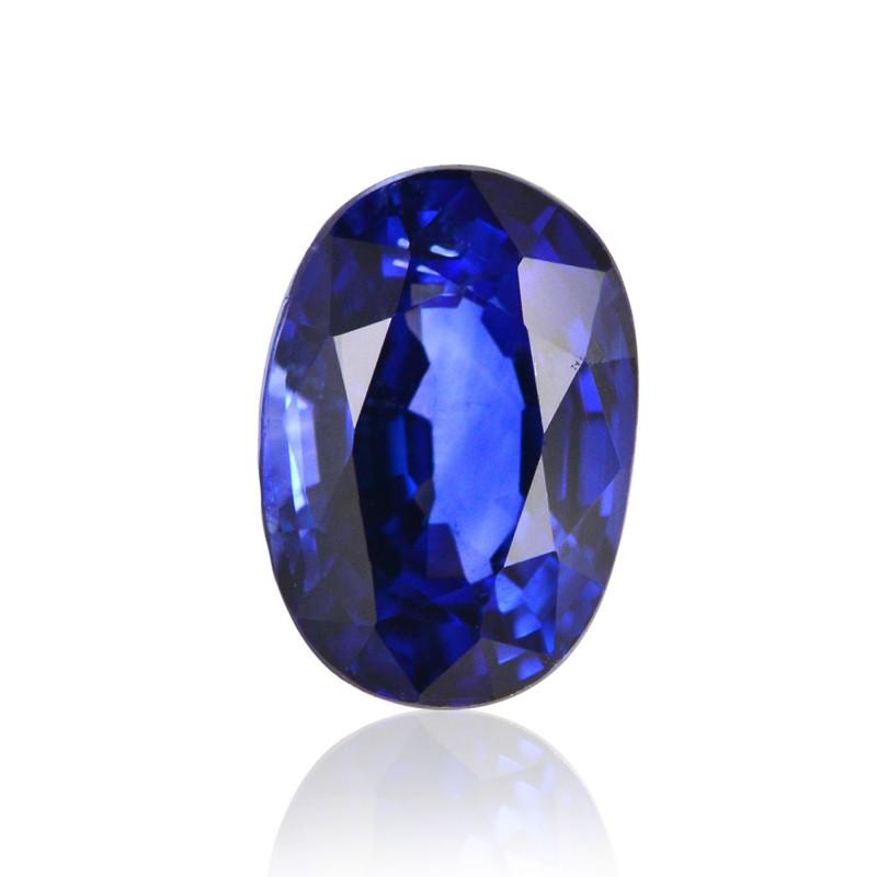1 31 Carat Blue Ceylon Sapphire Oval Shape Sku 241941
