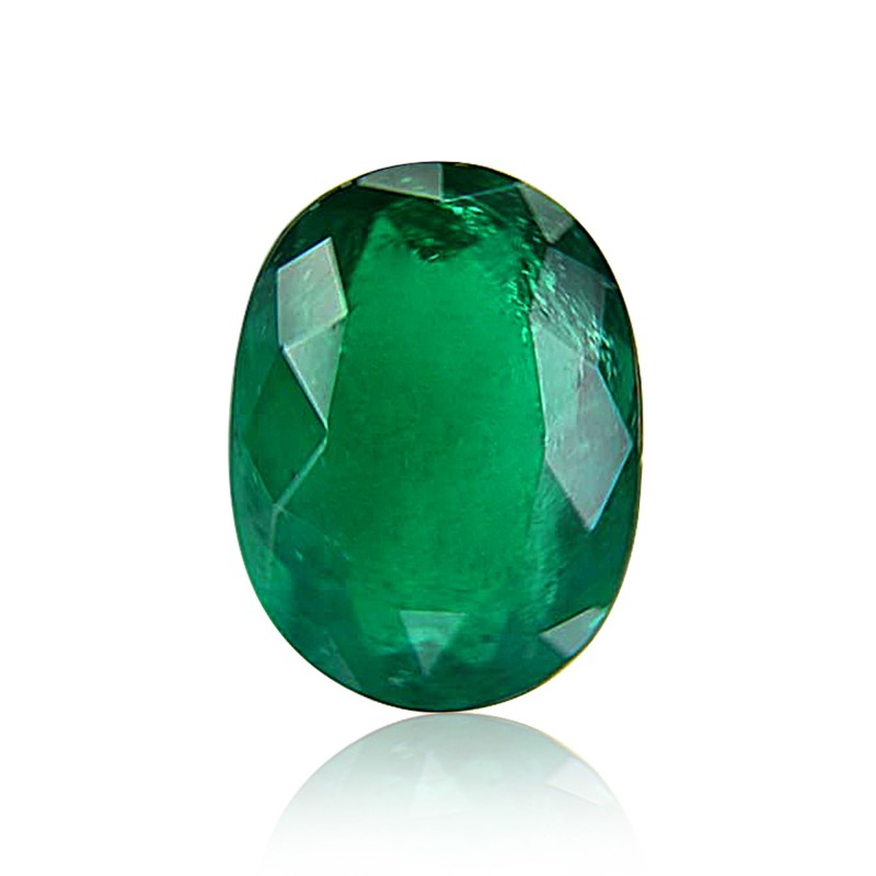 Green Oval Diamond